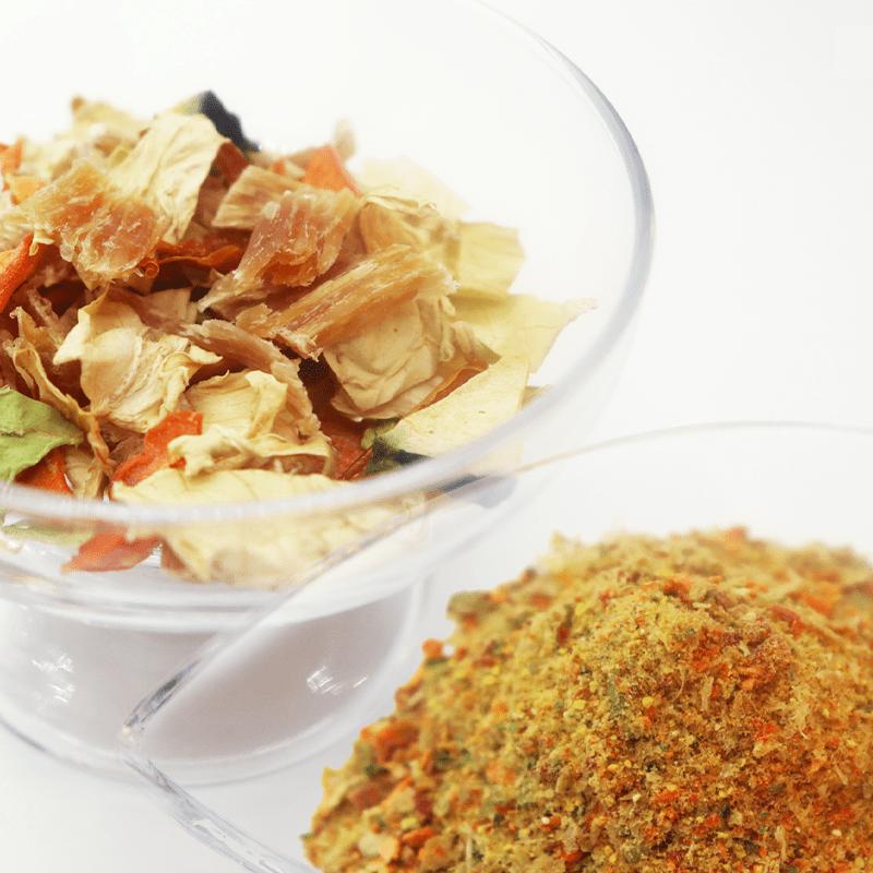 鶏と野菜の自家製ふりかけ